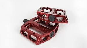 "FIT PEDALS MAC ALUMINIUM LOOSE BALL 9/16"" Red"