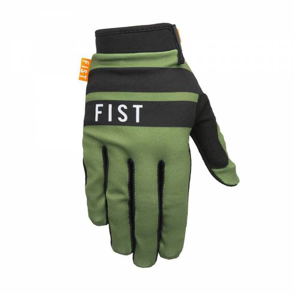 FIST GLOVES STOCKER STRAPPED Green