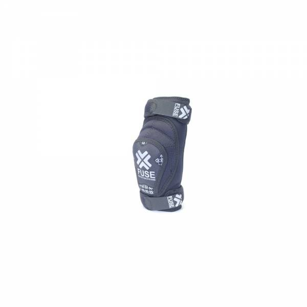 FUSE ELBOW GUARDS F DFS FULL DEFENCE Black/White