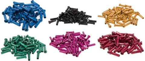 SPOKE NIPPLES 16MM ALUMINIUM 50PC Colors