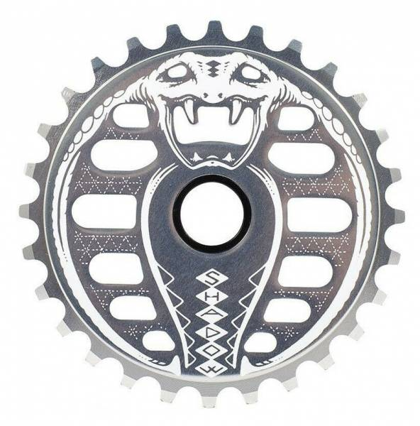 SHADOW CONSPIRACY SPROCKET 28T KOBRA Silver