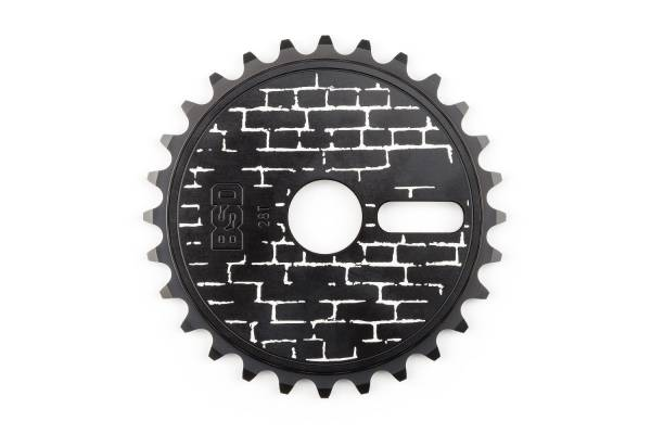 BSD SPROCKET 28T WALLY DISC Black