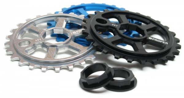 PROPER SPROCKET 28T NONAGON Black