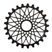 FEDERAL SPROCKET 28T BBS CROMO BOLT ON Black
