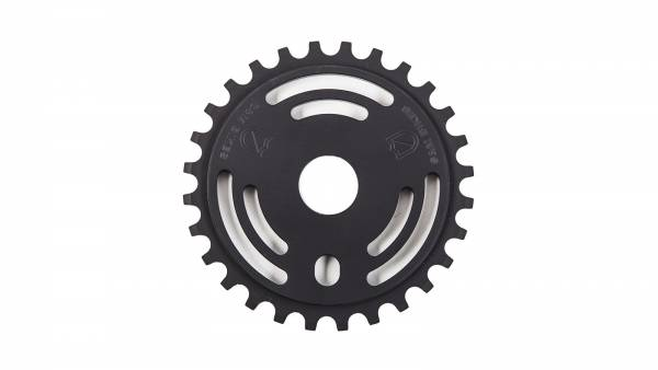 S&M SPROCKET 25T DRAIN MAN Black
