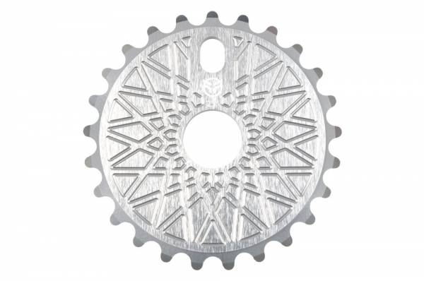 FEDERAL SPROCKET 25T BBS SOLID BOLT ON Silver