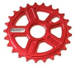 MERRITT SPROCKET 25T MIGHTY Red