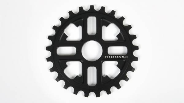FIT SPROCKET 25T KEY Black