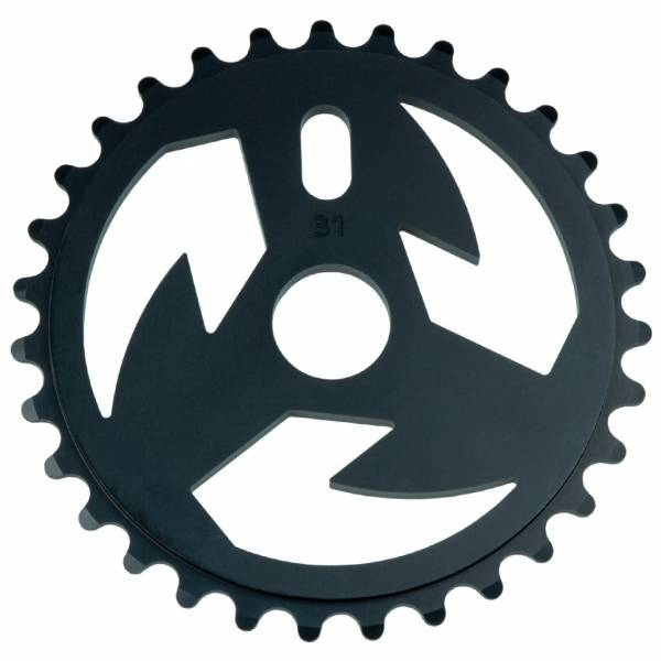 TALL ORDER SPROCKET 31T LOGO Black