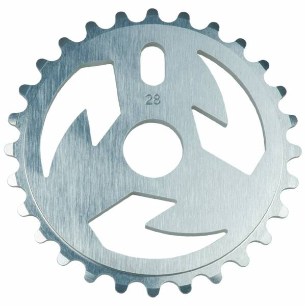 TALL ORDER SPROCKET 28T LOGO Silver