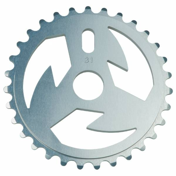 TALL ORDER SPROCKET 31T LOGO Silver