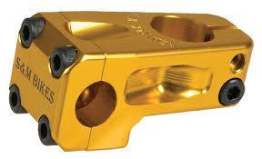 S&M STEM FRONT LOAD 52mm REDNECK XLT Gold