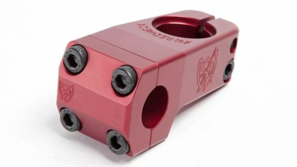 S&M STEM FRONT LOAD 50mm SHREDNECK Red