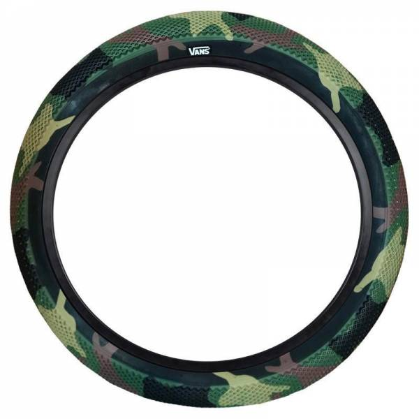 "CULT VANS TIRE 20 INCH x 2.40"" CAMO/BLACK"