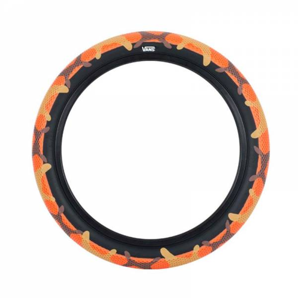 CULT VANS TIRE 20 x 2.40 ORANGE CAMO/BLACK
