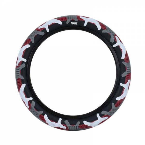 CULT VANS TIRE 20 x 2.40 RED CAMO/BLACK