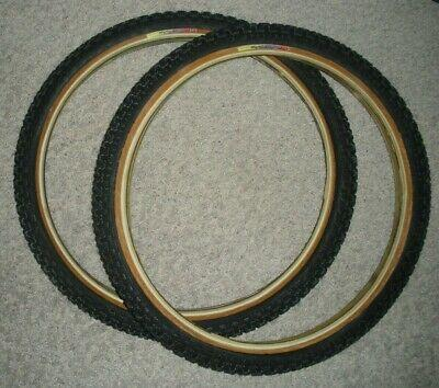 "TIOGA COMPIII TIRES 20x 1 3/8"" RAINBOW Black/Skinwall pair"