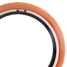 CULT VANS TIRE 20 x 2.20 Gum with White/Red wall