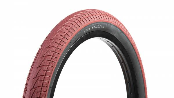 FIT TIRE 20 x 2.30 OEM WIRE BEAD Red/Blackwall