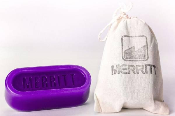 MERRITT WAX 7.6 OZ OVAL Purple