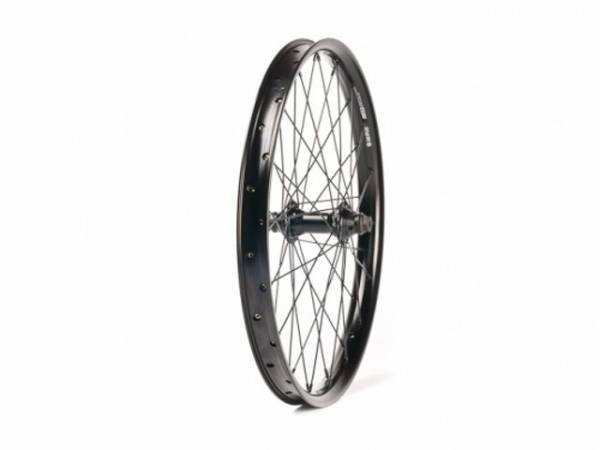 SALT PLUS FRONT WHEEL AERO FEMALE DOUBLE WALL Black