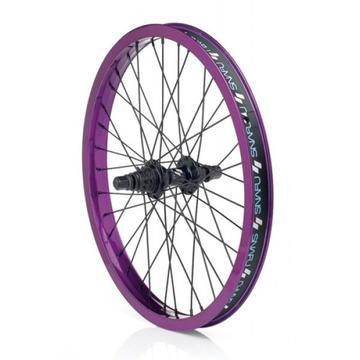 SNAFU WHEELSET FRONT AND REAR SB 9T Purple/Black